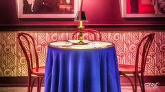 Speakeasy #2 (dougkuony) Tags: durham durhammuseum prohibition speakeasy table chairs hdr