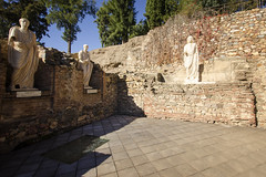 Roman Emperors (rschnaible) Tags: merida spain espana europe roman ruins ancient old history historic sightseeing tour tourist statue monument architecture