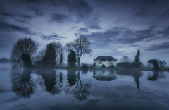 Cool Reflections (zphanjakidze2) Tags: class cool coolpicture coolpictures cooltones cottage dawn moody nikond7000 normantononsoar nottinghamshire reflections sigma1020mmf4 zouch