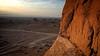 Shahdad Kalut Desert - Kerman Province - Iran (André Schönherr) Tags: 40d visionhunter desert wüste iran kalut lut sand mountains sunset shahdad kerman stone hot dry earth landscape