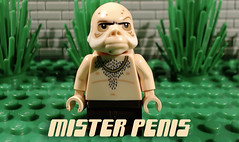 Mister Penis is in trouble again... (woodrowvillage) Tags: lego brick film comedy penis cock dick balls sack scrotum toy moc star wars ugnaught innuendo