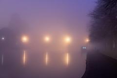 Evesham Fog (jactoll) Tags: evesham worcestershire winter fog foggy mist misty mood lights bridge river avon riveravon jactoll sony a7ii zeiss 70200 f4