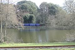Bicton Woodland Railway, Devon. (ManOfYorkshire) Tags: bicton woodland railway bwr park gardens devon tour service train 18gauge woolwich arsenal walthamabbey mod 1963 sirwaletrraleigh carriages passenger waroffice stock moved london bictonparkgardens botanical