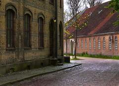 Old Town Composition 2 (bjorbrei) Tags: brick norway oldbuildings paving oldtown oldhouses gamlebyen paved fredrikstad