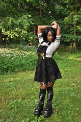 TACA_0160 (Beautiful Presence) Tags: hello portrait woman girl beautiful face pose model women shoes pretty kitty posing gamer kawaii piercings