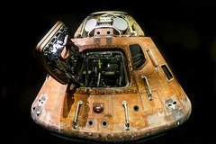 Apollo 14 Command Module (Nathan Reading) Tags: moon space nasa lunar kennedyspacecentre apollo14 commandmodule apolloprogram