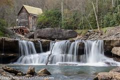 The famous grist mill at Babcock State Park (Alaskan Dude) Tags: travel nature landscape scenery westvirginia waterfalls newrivergorge babcockstatepark blackwaterfallsstatepark