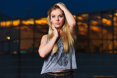 Brianna (James Ismert Photography) Tags: woman sexy beautiful gorgeous blonde denim