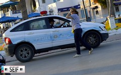 Ssangyong Actyon Tunisia 2015 (seifracing) Tags: red rescue cars car europe cops traffic tunisia tunis transport police research emergency mazda polizei spotting services policia recovery tunisie brigade polis tunisian tunesien polizia ssangyong 2015 policie actyon bt50 seifracing