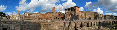 March de Trajan - Via dei Fori imperiali (xsalto) Tags: panorama rome antique italie viadeiforiimperiali marchdetrajan
