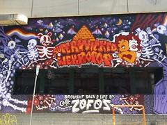 Street Art, Psirri, Athens (TheVRChris) Tags: graffiti athens psiri kerameikos psirri keramikos   superwicked  necropop zofos streetart