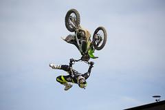 Jamie Squibb Gas Arena best trick (lewis wilson) Tags: england jump freestyle flip dirtbike trick fos mx goodwood kawasaki motorcross festivalofspeed goodwoodfestivalofspeed