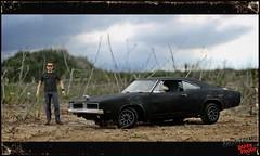 1:18 Death Proof Dodge Charger (Jon's Autoyard) Tags: mike scale car death model dodge proof mopar charger stunt tarantino stuntman