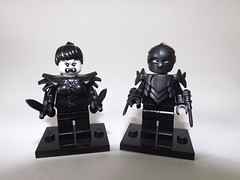 Vamps (Nilbog Bricks) Tags: lego vampire custom minifigures brickarms brickwarriors