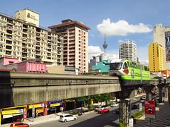 Chow Kit (ac_marvin) Tags: canon malaysia monorail kl chowkit monorel kualanlumpur powershotg16