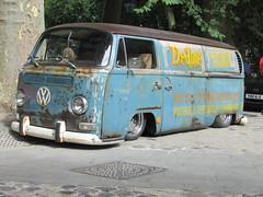 Volkswagen Type 2 Transporter MUX653F (Andrew2.8i) Tags: bristol breakfast meet queen queens square avenue drivers club 1968 volkswagen vw vee dub type 2 t2 transporter kombi bus camper classic van car