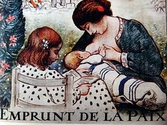 2016-12-27 -1920 poster (april-mo) Tags: 1920 poster affiche vintage vintagefrenchposter breastfeeding woman womanandbaby