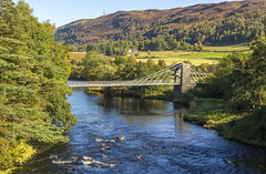 Bridge of Oich (Kev Gregory (General)) Tags: bridge oich known victoria aberchalder taper principle suspension designed james dredge across river highland scotland opened 1854 main road traffic over until 1932 kev gregory canon 7d scottish tour scenery scenic historic