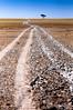 Makgadikgadi Saltpan - Driving To The Edge (Alec Lux) Tags: botswana makgadikgadi beginning blue border crust dry edge empty end landscape lonely nature pan salt saltpan salty savannah sky