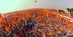 Huge crowd at Moga Pani Bachao Punjab Bachao Rally - Akali Dal (Shiromani Akali Dal) Tags: mogarally punjab akalidal