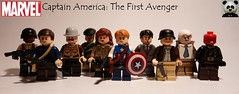 Captain America: The First Avenger Figbarf (Random_Panda) Tags: lego figs fig figures figure minifigs minifig minifigures minifigure purist purists character characters marvel comics superhero superheroes hero heroes super comic book books films film movie movies tv show shows television civil war captain america the first avenger bucky barnes peggy carter red skull dum dugan howard stark