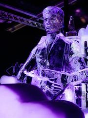 David Bowie 1 (Jan Enthoven) Tags: davidbowie statues kunst art muziek ice gitaar guitar ziggystardust amsterdam ijsbeelden