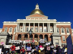 December 19th | A Day that Will Live in Infamy (Christina Davis) Tags: antitrump bostonstatehouse defenddemocracy electoralcollege bostonactivists
