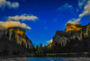 Yosemite Valley afternoon (r.moreira32) Tags: yosemite nationalpark california mercedriver landscape mountain cloud sky serene skyline nikon d700 1835mm sunset dusk river monolith valley unitedstates