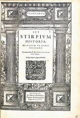 L'Obel-Title page-1576 (melindahayes) Tags: 1576 qk41l7971576 lobelmatthiasde plantarum plantinchristophe folioformat latin