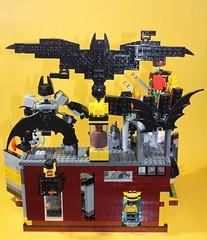 03_Bat_Cave (bbchai) Tags: lego batman batcave robin poster movie mobile segway