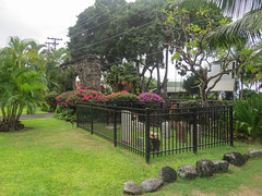 Burials in the Mokuaikaua Church yard (gttexas) Tags: 2016 amsterdam cruise hi hawaii hollandamerica kona gravemarker tombstone unitedstates