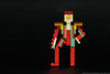 15. 1973 - Ziggy Stardust (Platform boots) (Brickwright) Tags: bowie lego miniland minilanders david ziggy stardust