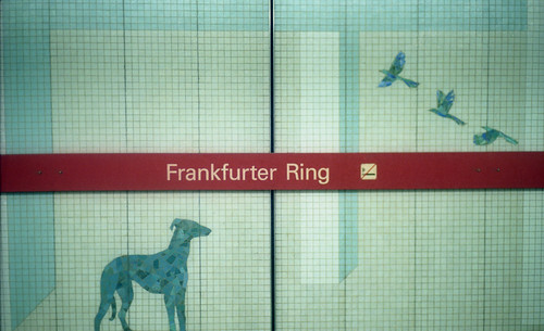 Frankfurter Ring U-Bahn sta MUC 5-25-16