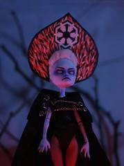 Sith Empire Snow Maiden (Kuma-bear) Tags: sith monsterhigh monsterhighdolls repaint ooak abbeybominable abbey sithempire snowmaiden kokoshnik lulz