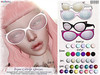 [ bubble ] Bijou Cateye Glasses (::: insanya ::: & [ bubble ]) Tags: secondlife bubble originalmesh accessories glasses shades mesh hud thechapterfour halfprice discounted
