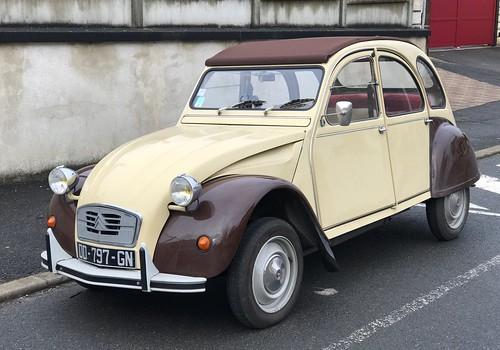 La célèbre 2 CV Citroën