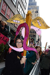 Women's March in NYC DSC_6497 (Nina Roberts) Tags: nyc newyorkcity womensmarch protest caduceus
