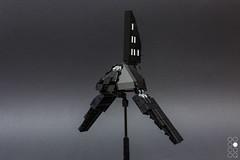 Krennic's Shuttle [micro] (Cole Blaq) Tags: blocksmagazine coleblaq lego rebels starwars brick bricks commission miscoscale popculture scifi space spaceship starfighter