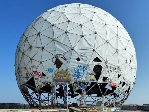 Le toit de la station NSA