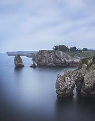 Acantilados del Infierno (Julieta Portel) Tags: acantiladosdelinfierno ribadesella asturias seascape cliff blue acantilados