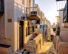 Mykonos (Kevin R Thornton) Tags: mediterranean d90 architecture greece nikon mykonos travel street mikonos egeo gr