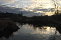 The bend (Steenjep) Tags: vinter winter haderup haderiså å stream sun sol refleks reflex