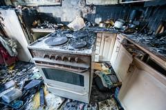 OBRE-utbrent-kjøkken-Rustad-10 (oslobrannogredning) Tags: kjøkkenbrann tørrkok bygningsbrann brann brannskader utbrent komfyr koketopp matlaging