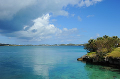 Harrington Sound (ShootsNikon) Tags: bermuda inlet flatts harringtonsound bamz subtropical current lush green rocks boats sailboats scenic docks landscape waterscape