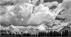 Snowy ridge (j0hnnyg) Tags: snow mountains ridge 2015 dentdemiddi