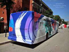 STM 17-176 (1) Bryan Beyung (Alexander Ly) Tags: canada bus art nova festival de mural quebec montreal transport bull bryan stm autobus lfs taureau societe novabus beyung