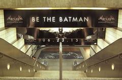 Because No One Knows What It's Like to be The Batman (Robb Wilson) Tags: losangeles batman videogame downtownla 7thandmetrostation