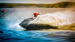Speeding jetski (Subdive) Tags: water speed sweden jetski watercraft västerås mälaren bxpracing