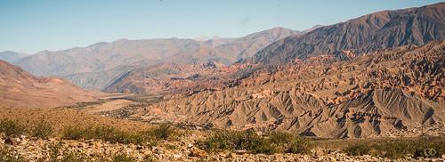 ARGENTINE - Tilcara panorama