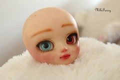 - Commission make up n3 for Lyle'sTheater- (Mlle Faiiry ) Tags: flower make up theater dolls pullip commision lyle philomena mlle faiiry
